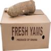 Frische Yamswurzeln Karton ca 10 kg